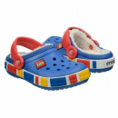 Papuci Copii casual Crocs Crocband Mammoth Lego  -2