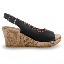 Sandale Crocs A Leigh Wedge Leather-image