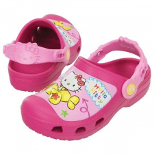 Saboti Crocs CC Hello Kitty Plane Kids Clog-image