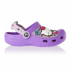 Saboti Crocs Hello Kitty Candy Ribbons Clog-image