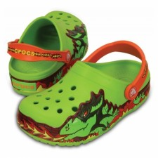 Saboti Crocs Lights Fire Dragon Clog-image