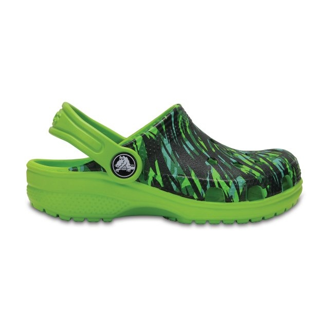 Saboți Copii casual Crocs Classic Graphic  -6
