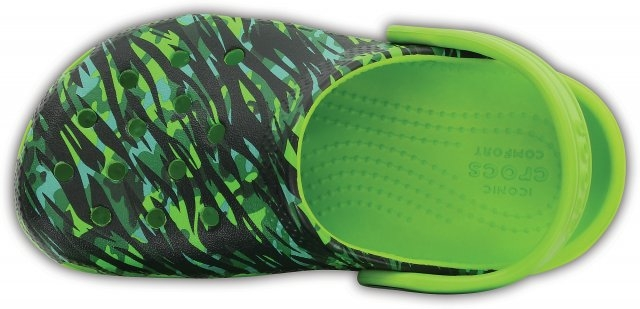 Saboți Copii casual Crocs Classic Graphic  -7