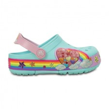 Saboti Crocs Lights Rainbow Hrt Clog-image