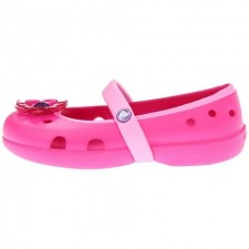 Papuci Crocs Keeley Flower Flat-image
