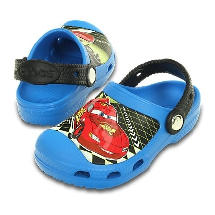 Saboți Băieți casual Crocs CC Lighting Mcqueen clog  -1