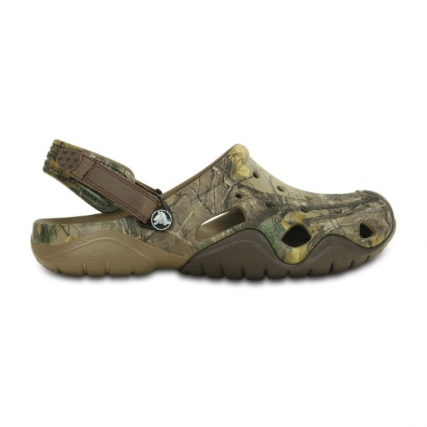 Saboți Bărbați casual Crocs Swiftwater Realtree Xtra  -1