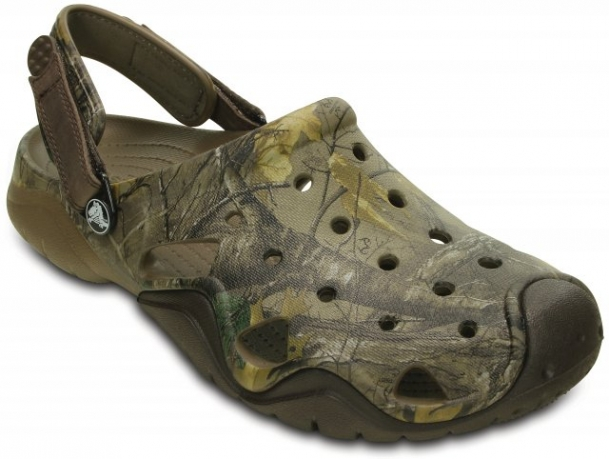 Saboți Bărbați casual Crocs Swiftwater Realtree Xtra  -2
