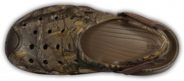 Saboți Bărbați casual Crocs Swiftwater Realtree Xtra  -4
