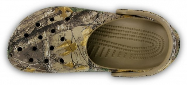 Saboți Adulti Unisex casual Crocs Classic Realtree Xtra  -3