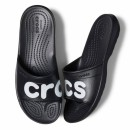 Papuci Adulti Unisex casual Crocs Classic Graphic Slide negri -5