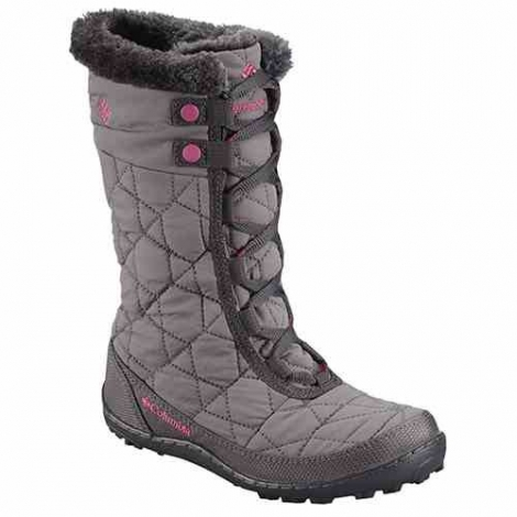 Cizme Copii de zăpadă impermeabile Columbia Youth Minx Mid II Waterproof Omni-Heat Waterproof  -1