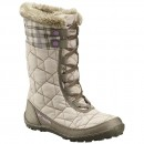 Cizme Copii de zăpadă impermeabile Columbia Youth Minx Mid II Waterproof Omni-Heat Waterproof Bej -4