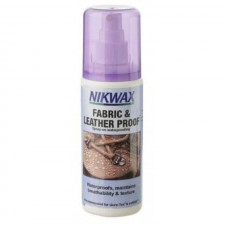 Soluție pentru impermeabilizat Nikwax Fabric & Leather Spray (125ml)-image