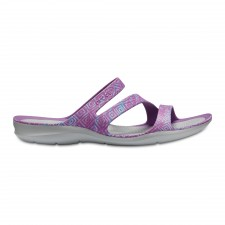 Papuci Crocs Swiftwater Graphic Sandal-image