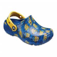 Saboti Crocs Fun Lab Minions Graphic Clog-image