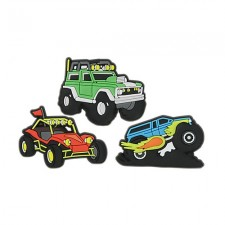 Jibbitz Crocs Vehicles 3 Pack-image