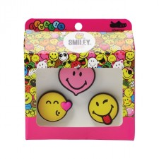 Jibbitz Crocs Smiley Brand Love 3 Pack-image