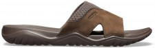 Papuci Crocs Swiftwater Leather Slide-image