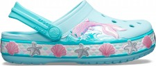 Saboti Crocs Fun Lab Mermaid Band Clog-image