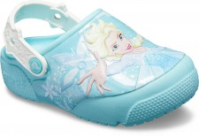 Saboti Crocs Fun Lab Frozen Elsa Lights Clog-image