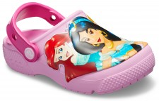 Saboti Crocs Fun Lab Multi-Princess Clog-image