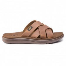 Papuci Teva Voya Slide Leather-image