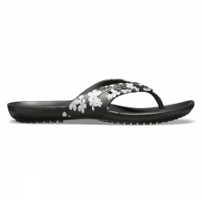 Slapi Crocs Women's Kadee Seasonal Graphic Flip-image