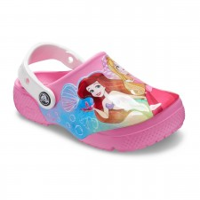 Saboti Crocs Fun Lab Disney Princess Patch Clog-image