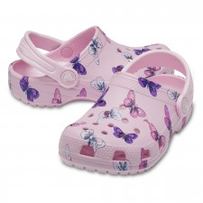 Saboți Crocs Classic Butterfly Clog-image