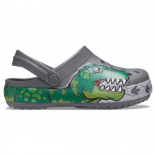 Saboti Crocs Fun Lab Dino Band Lights Clog-image
