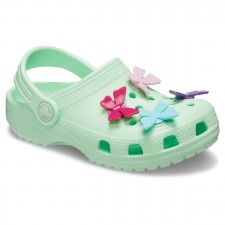 Saboti Crocs Classic Butterfly Charm Clog-image