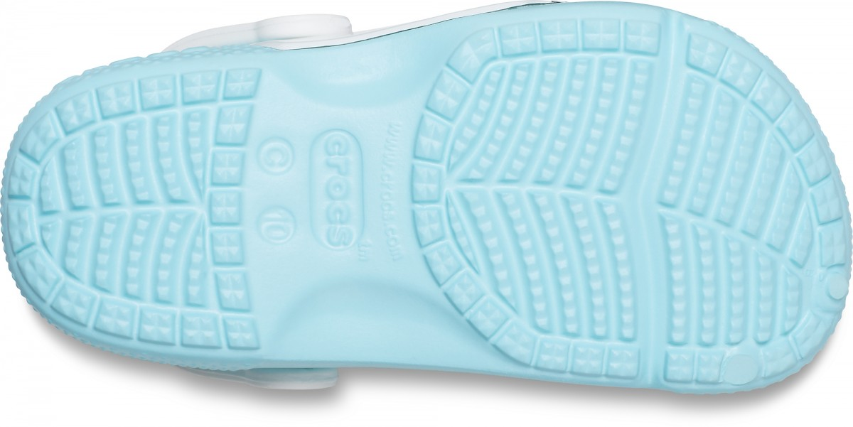 Saboți Fete casual Crocs Crocs Fun Lab OL Disney Frozen 2 Clog Albastri deschisi -4