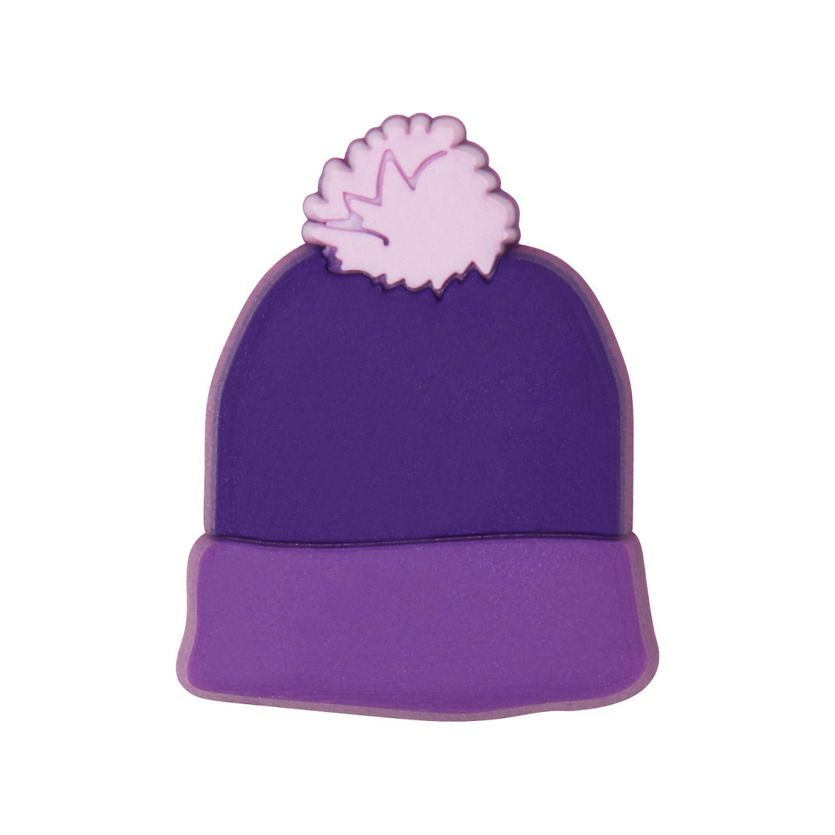 Copii Crocs Purple Beanie Mov -1