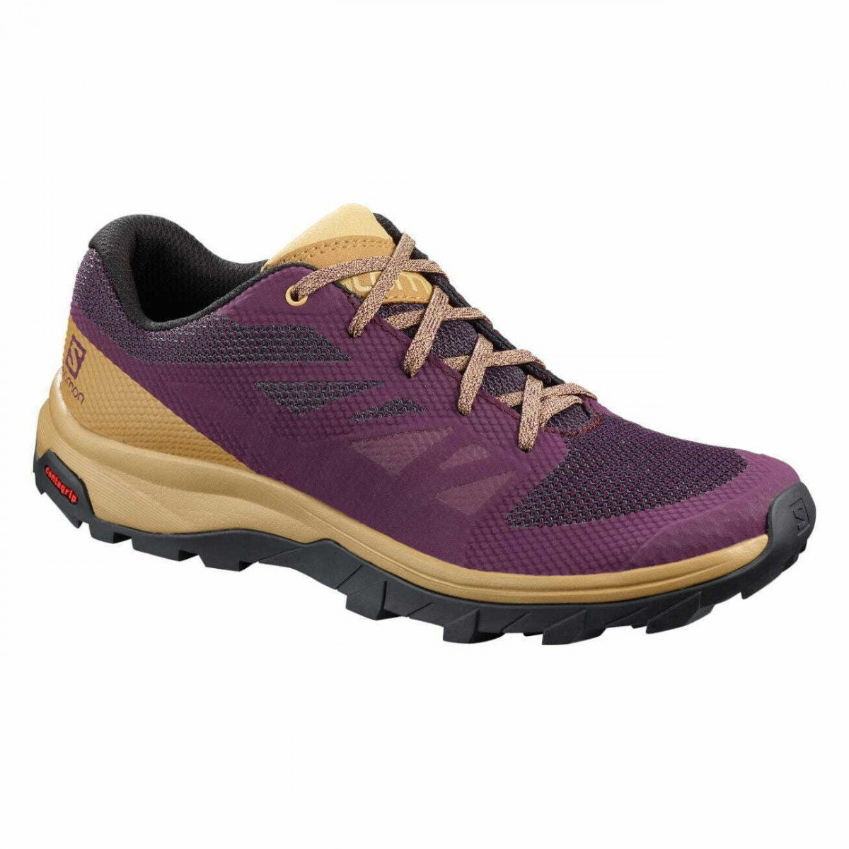 Pantofi damă Outdoor Salomon OUTline W Mov -1