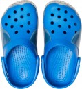 Saboți Băieți casual Crocs Crocs Fun Lab Shark Band Clog Albastri -3