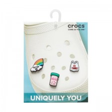 Jibbitz Crocs Funny Sayings 3 Pack-image