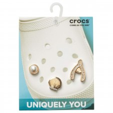 Jibbitz Crocs Elevated Gold 3 Pack 2-image
