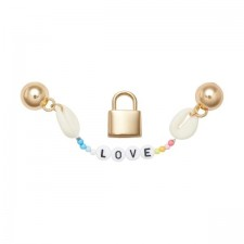 Jibbitz Crocs Elevated Love Charm Chain Pack-image